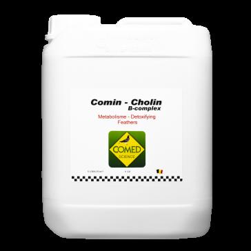 Comin-Cholin B Complex Pigeon (5L)   BR30012 LIVRAISON 15 JOURS