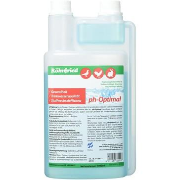 PH-Optimal (1000 ml)  Le pH influence de manière optimale l'efficacité du métabolisme