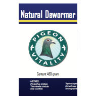 Pigeon Vitality Natural Dewormer  (450g)