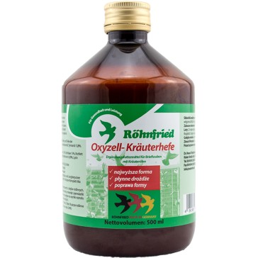 Oxyzell Krauterhefe  (500 ml)  vitamins, minerals and trace elements and valuable herbs.
